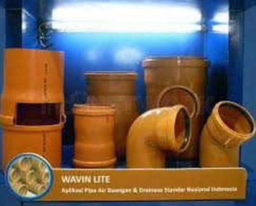 Pipa Wavin Lite pipa air limbah, pipa air buangan