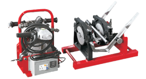 Mesin Penyambung Pipa Hdpe type SHDS 160/50 A2