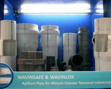 AgenPipa PVC Sni Wavin safe dan wavinlok